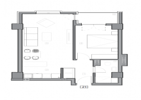 Зграда 55, кат 3, стан 21
