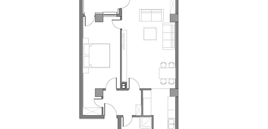 Зграда Пелагонија, кат 2, стан 13