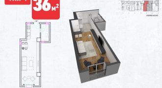 Зграда 55, кат 5, стан 44