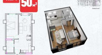 Зграда 55, кат 7, стан 62
