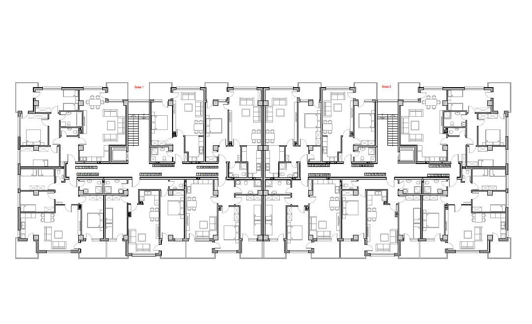 Станбен комплекс Пелагонија, кат 3