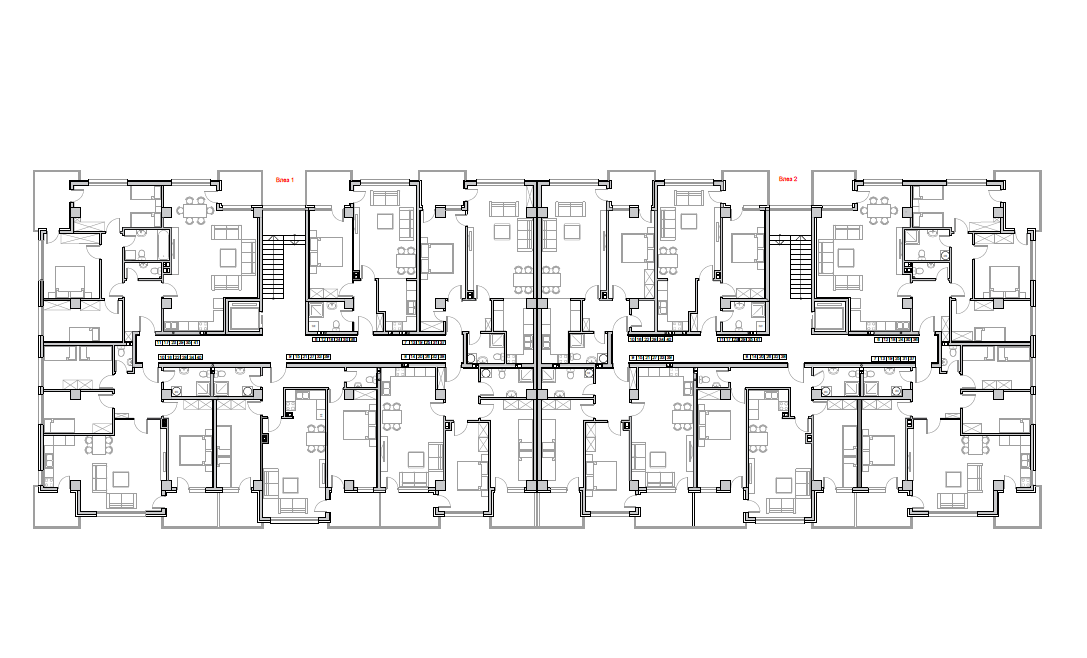 Станбен комплекс Пелагонија, кат 4