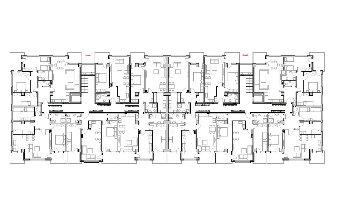 Станбен комплекс Пелагонија, кат 6