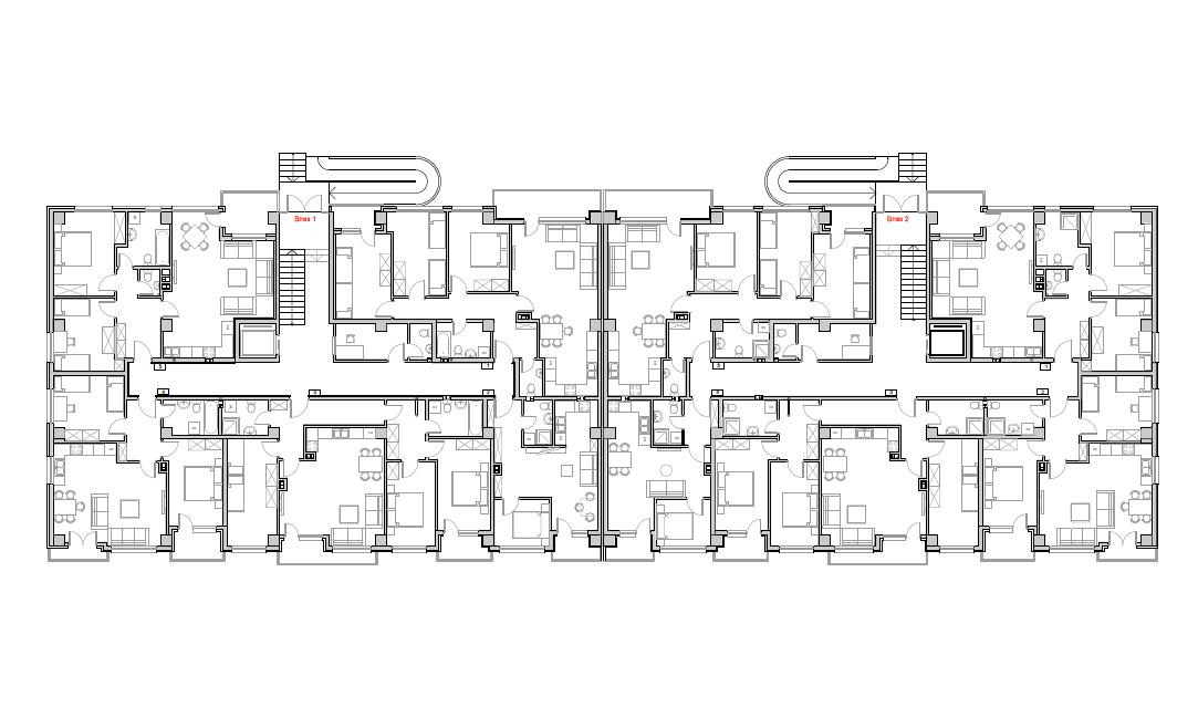 Станбен комплекс Пелагонија, приземје