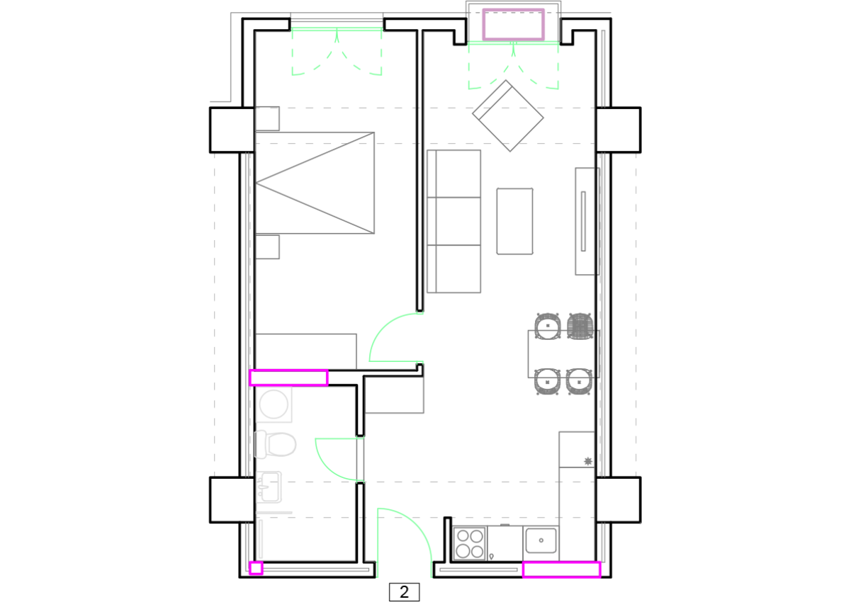 Зграда 55, кат 9, стан 82