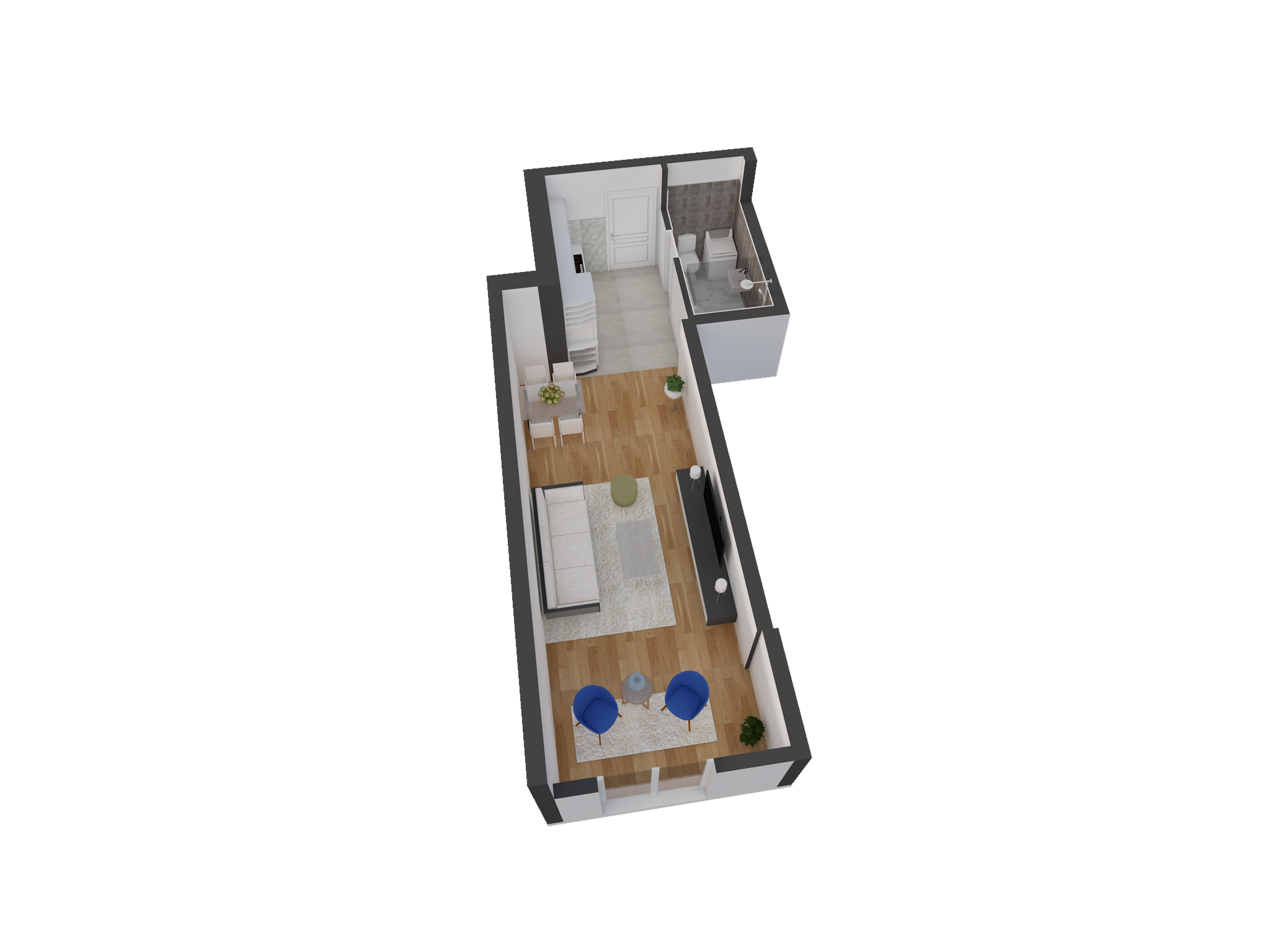 Зграда 55, кат 3, стан 24