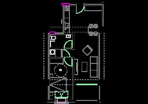 Зграда 55, кат 5, стан 43