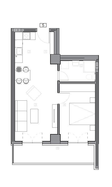 Зграда 55, кат 7, стан 65
