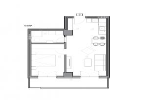 Зграда 55, кат 4, стан 36