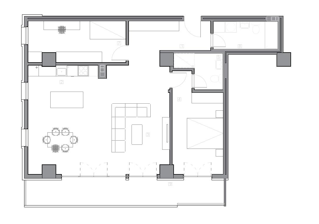 Зграда 55, кат 5, стан 47