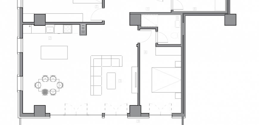 Зграда 55, кат 9, стан 88