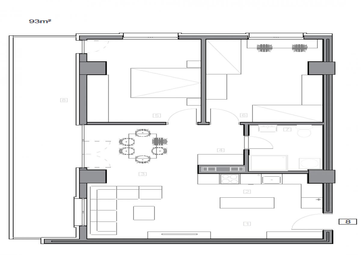 Зграда 55, кат 9, стан 89
